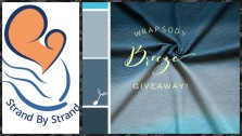Strand By Strand giveaway of Wrapsody Breeze woven wrap in the colourway Gabriel.